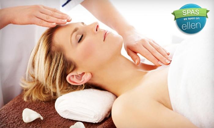 Asha, an Aveda Lifestyle Salon & Spa - Cherry Valley: Massage or Massage and Facial at Asha, an Aveda Lifestyle Salon & Spa