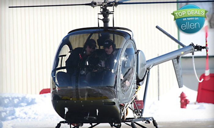 Bachman Aero - Schaumburg: $149 for a Helicopter Ride or Lesson from Bachman Aero in Schaumburg ($295 Value)