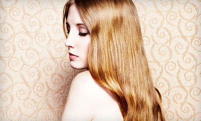 Hypnotic Salon & Spa - Tustin: One, Two, or Three Keratin Smoothing Treatments with Glass of Wine at Hypnotic Salon & Spa in Tustin (Up to 78% Off)