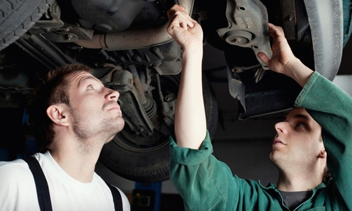 Speedy Auto Service - Central St. John's: $25 for a Vehicle-Maintenance Package at Speedy Auto Service ($49.95 value)