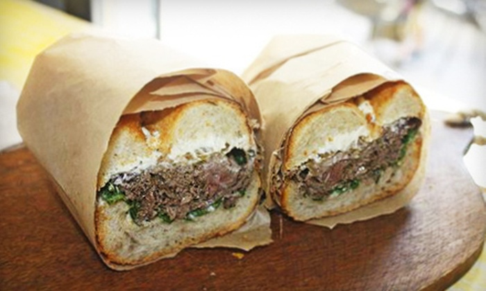 Back Yard Kitchen - Cow Hollow,Pacific Heights: $10 Worth of Gourmet Sandwiches and Salads