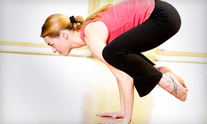 Just Plain Yoga - Camp Hill: Three Drop-in Classes or One Month of Unlimited Classes at Just Plain Yoga in Camp Hill