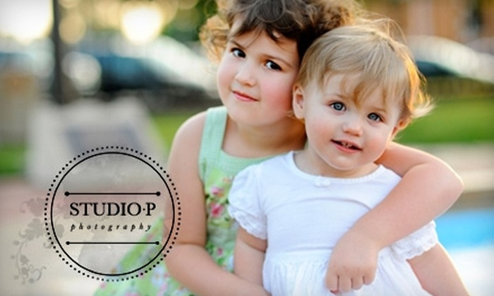 Studio P Photography - Lee's Summit: $59 for a One-Hour Photo Session and DVD Slideshow from Studio P Photography ($449 Value)