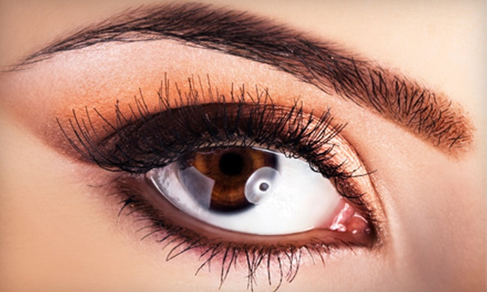 Do My Eyes - Riverwood Athletic Club: NovaLash Eyelash Extensions or One or Three Eyebrow Waxings at Do My Eyes in Clayton