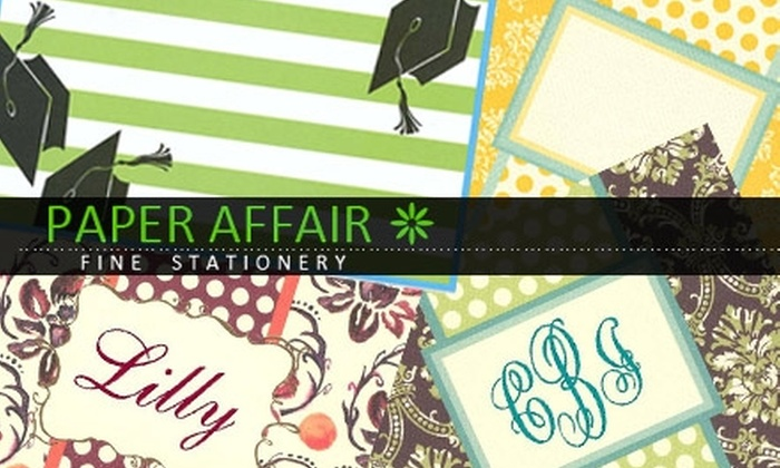 Paper Affair - Multiple Locations: $19 for $40 Worth of Invitations, Stationery, Gifts, and More at Paper Affair
