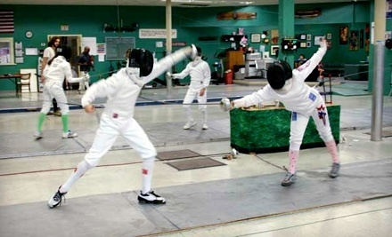 Olympian Fencing Club: 4 Fencing Classes - Olympian Fencing Club in San Antonio