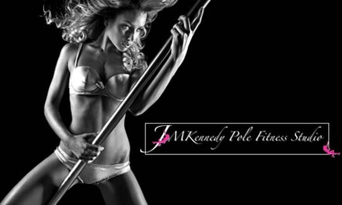 JM Kennedy Pole Fitness Studio - Pawtucket: $10 for One Pole or Zumba Workout Class at JM Kennedy Pole Fitness Studio (Up to a $25 Value)