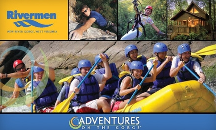 Rivermen - New Haven: $67 for a One-Day Rafting Trip on the Upper or Lower New River (Lunch Included) from Rivermen in Lansing, West Virginia