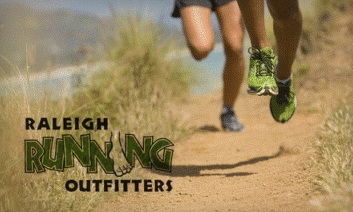 Raleigh Running Outfitters - White Oak: $25 for $50 Worth of Shoes and Running Apparel at Raleigh Running Outfitters
