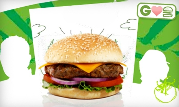 Evos - Multiple Locations: $7 for $15 Worth of Burgers and Healthy American Fare at Evos