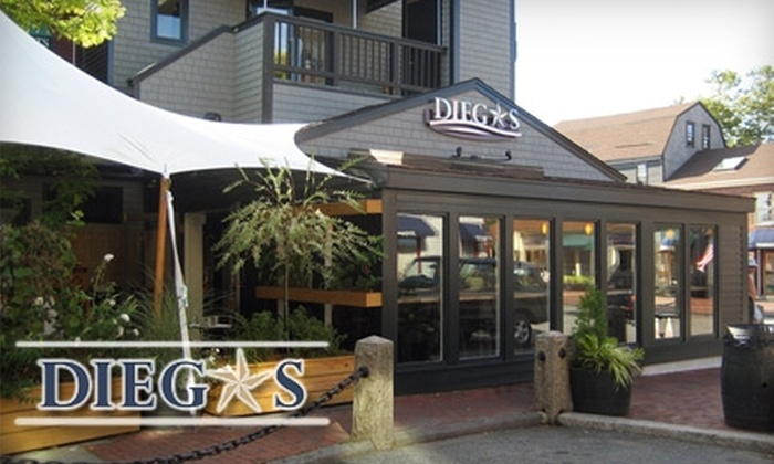 Diego's - Newport: $15 for $30 of Mexican Fare and Drinks at Diego's Newport