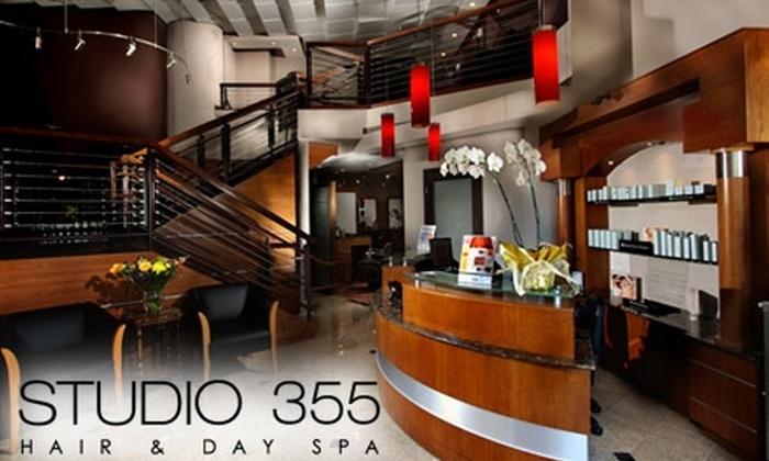 Studio 355 Hair & Day Spa - Rockville: $50 for $100 Worth of Hair Services at Studio 355 Hair & Day Spa
