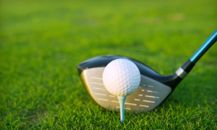 Woodlake Golf Club - Estates / Mission Hills: 18-Hole Golf Outing for Two or Private Lesson with 18-Hole Golf Outing at Woodlake Golf Club (Up to Half Off)