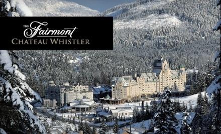 The Fairmont Chateau Whistler - The Fairmont Chateau Whistler in Whistler
