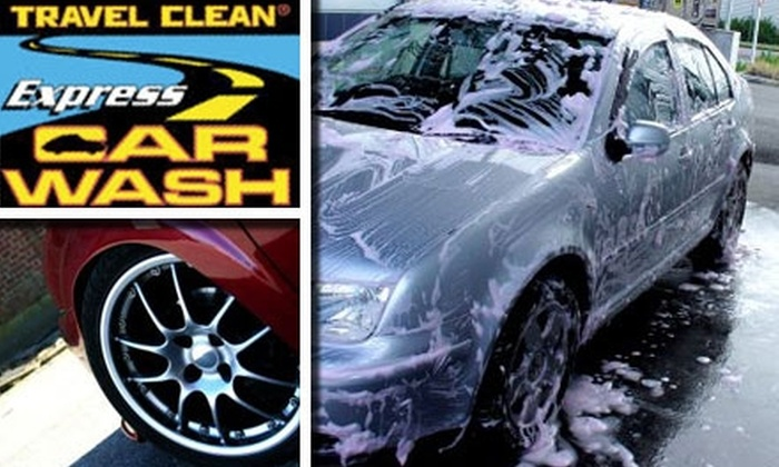Travel Clean Express - Multiple Locations: $5 for One Ultimate Car Wash at Travel Clean Express