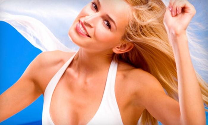 Desert Sun Tanning Salon - San Diego: Three or Five Sunless-Tanning Sessions at Desert Sun Tanning Salon (Up to 81% Off)