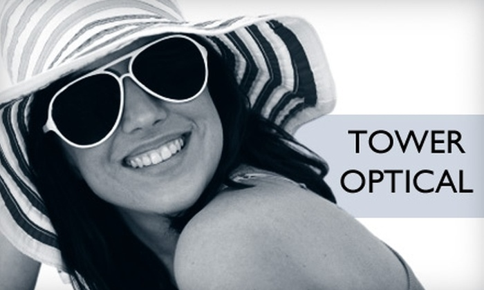 Tower Optical - Richmond Heights: $50 for $175 Worth of Designer Sunglasses at Tower Optical