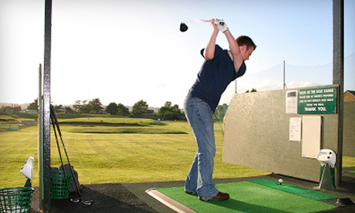 Broadway Driving Range & Miniature Golf - Depew: $14 for Buckets of Range Balls or Four Rounds of Mini Golf at Broadway Driving Range & Miniature Golf in Depew (Up to $28 Value)