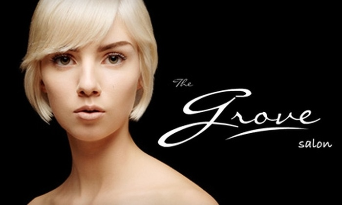 The Grove Salon - West Omaha: $65 for $140 Worth of Cut and Color Services at The Grove Salon