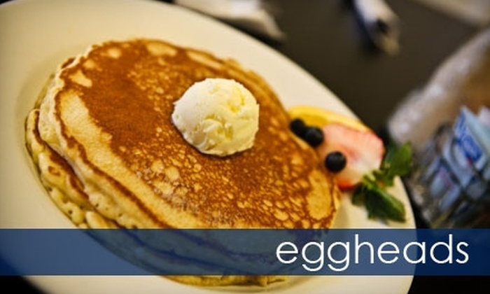 Eggheads - Third Ward: $14 for $30 Worth of Breakfast and Lunch Fare and Drinks at Eggheads