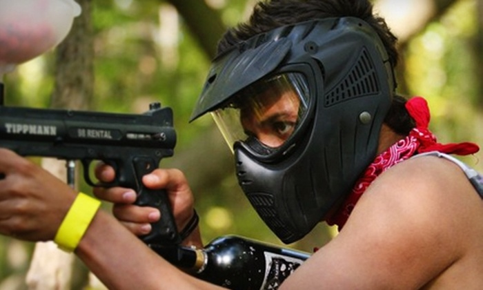 Lone Wolf Paintball - Detroit: $30 for All-Day Play, Upgraded Equipment, and 500 Paintballs at Lone Wolf Paintball in Mount Clemens (Up to $60 Value)