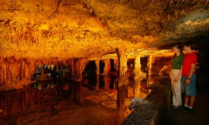 Sequoyah Caverns & Ellis Homestead - Valley Head-Mentone: Ticket to Looking Glass Tour from Sequoyah Caverns & Ellis Homestead in Valley Head. Two Options Available.