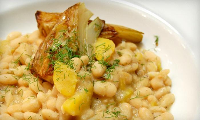 Monticello - Davis: $49 for a Chef's Prix-Fixe Dinner for Two at Monticello Seasonal Cuisine in Davis (Up to $100 Value)