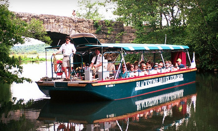 Blackstone Valley Tourism Council - Central Falls: $10 for a Scenic Blackstone River Boat Tour for Two from the Blackstone Valley Tourism Council in Central Falls (Up to $20 Value)
