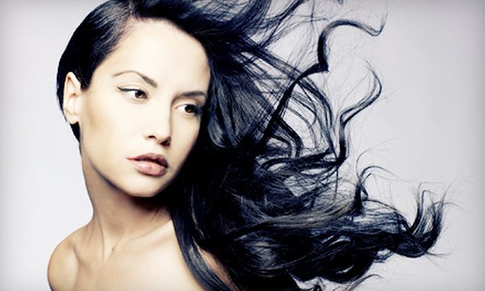 Dolce Organic Salon - Strongsville: $49 for a Haircut, Style, and Choice of Partial Highlights or All-Over Color at Dolce Organic Salon (Up to $111 Value)
