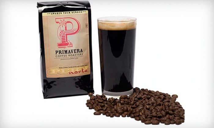 Primavera Coffee Roasters - Vestavia Hills: $5 for $10 Worth of Premium Coffee, Tea, and More at Primavera Coffee Roasters