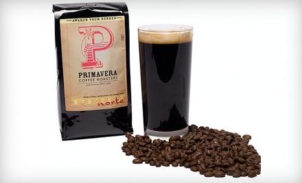 $10 Groupon to Primavera Coffee Roasters - Primavera Coffee Roasters in Birmingham