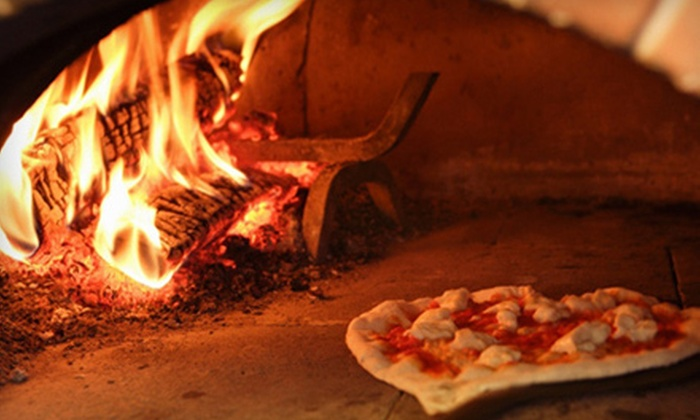 The Fire Brick Oven Pizza & Bar - North Providence: $12 for $25 Worth of Pizza and Italian Fare at The Fire Brick Oven Pizza & Bar in North Providence