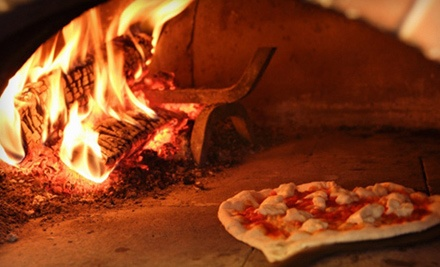 $25 Groupon to The Fire Brick Oven Pizza & Bar - The Fire Brick Oven Pizza & Bar in North Providence