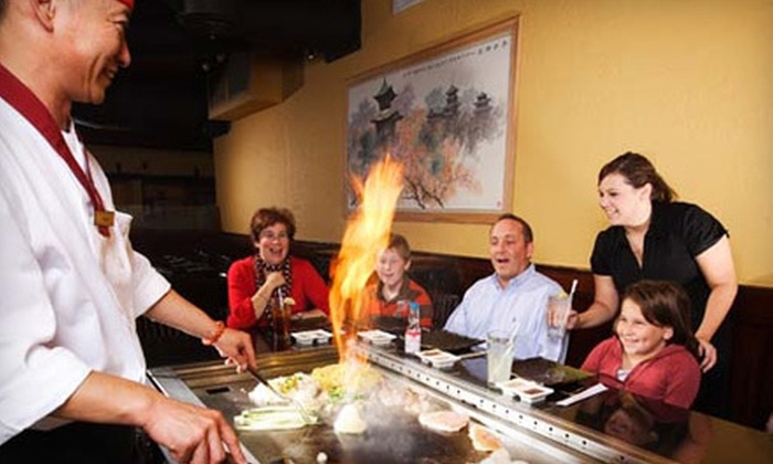 Hana Japanese Steak House and Sushi Bar - Waterbury: $20 for $40 Worth of Sushi and Japanese Cuisine at Hana Japanese Steak House and Sushi Bar in Waterbury