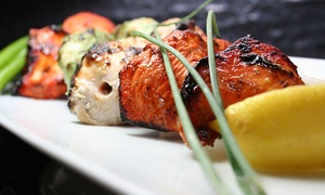 India Grill + Bar: Indian Food for Dinner at India Grill + Bar (Up to 37% Off). Two Options Available.