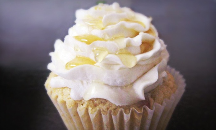 Slice of Grace Bakery at Cap City Cupcakes - The Fan: Gift Basket or $10 for $20 Worth of Cupcakes at Slice of Grace Bakery Boutique