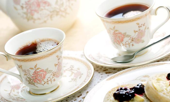 La Tea Da Tea Room - Union - Union: Three-Tiered Tea Tray and Unlimited Tea Tasting for Two or Four at La Tea Da Tea Room (50% Off)