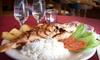 Piolyn Jr. Restaurant - East Hartford: $30 for a Peruvian Meal for Two at Piolyn Jr. Restaurant in East Hartford ($60 Value)