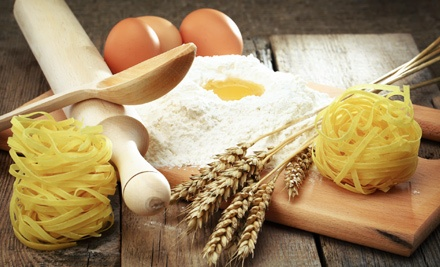 Pasta-Making Class with Wine and Food Tasting for One, Two, or Four at Eat Local (Up to 64% Off)
