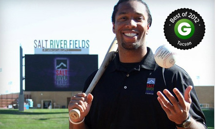 Larry Fitzgerald Celebrity Softball Game - Salt River Fields at Talking Stick: Larry Fitzgerald Celebrity Softball Game for Two or Four at Salt River Fields at Talking Stick on Saturday, April 27