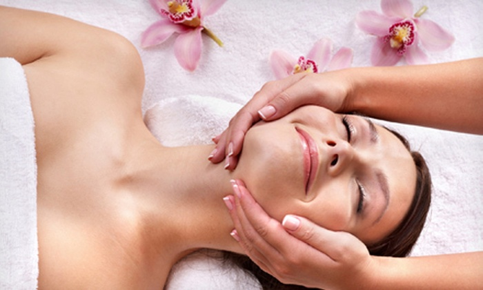 The Spa at Pure Salon - East Pointe: Custom Facial With or Without Be Gone Cellulite Body Wrap at The Spa at Pure Salon in Garner (Up to 57% Off)