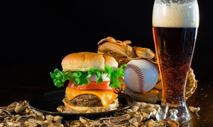 3rd Base Sports Bar & Grille: 50% Off Any Draft Beer with Purchase of Any Burger and Draft Beer at 3rd Base Sports Bar & Grille