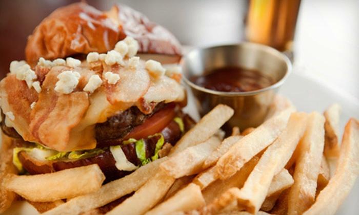 Tioli's Crazee Burger - North Park: $10 for $20 Worth of Creative Gourmet Burgers at Tioli's Crazee Burger