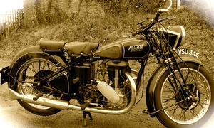 The Norfolk Motorcycle Museum: The Norfolk Motorcycle Museum: Entry For One (£3), Two (£5) or Family of Five (£8)