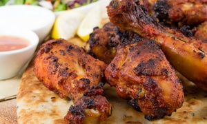 Modis Restaurant: Half Tandoori Chicken, Naan, and Chips from R55 for One at Modis Restaurant (Up to 51% Off)