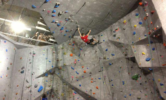 Atlanta Rocks! - Intown: Introductory Rock-Climbing Class for One or Novice Climb Package for Two at Atlanta Rocks! (Up to 57% Off)