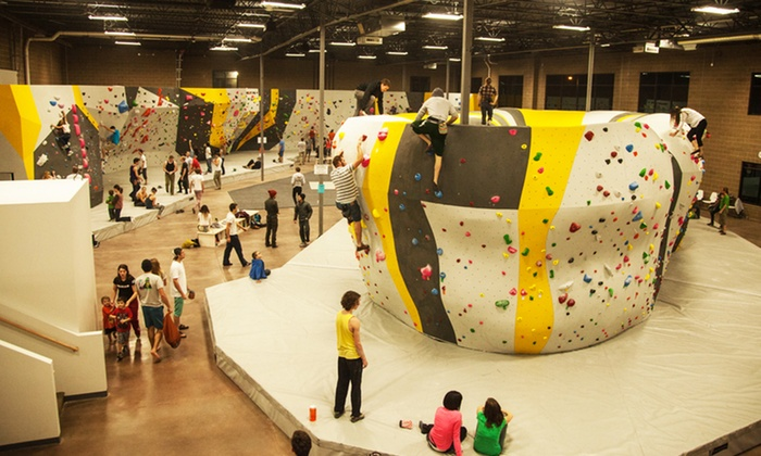 Momentum Indoor Climbing - Momentum Climbing - Lehi: Bouldering Pass for One or Two at Momentum Indoor Climbing in Lehi(Up to 48% Off)