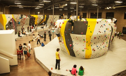 Bouldering Pass for One or Two at Momentum Indoor Climbing in Lehi(Up to 48% Off)
