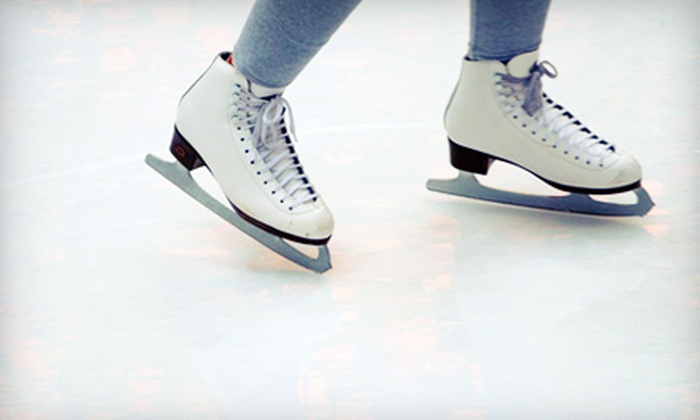 Las Vegas Ice Center - Spring Valley: Weekend Ice-Skating Package with Drinks for Two or Four at Las Vegas Ice Center (Up to 53% Off)