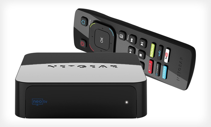 Netgear NeoTV Pro Streaming Player: $59.99 for a Netgear NeoTV Pro Streaming Player Bundle ($85.97 List Price). Free Shipping and Free Returns.
